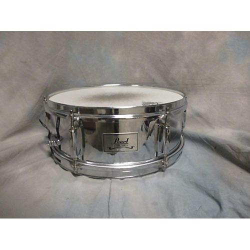 Pearl 4.5X13 Steel Shell Drum