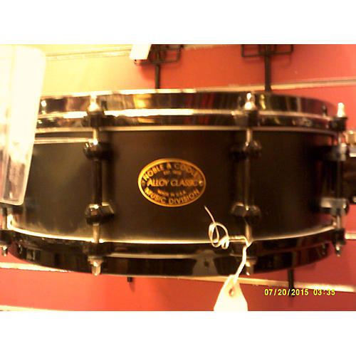 Noble & Cooley 4.5X14 Alloy Classic Black Drum-thumbnail