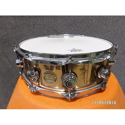 DW 4.5X14 Collector's Series Copper Snare Drum-thumbnail