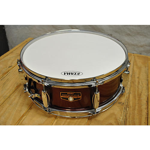 Tama 4.5X14 Imperialstar Snare Drum Candy Red Burst 5