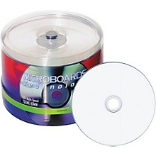 Taiyo Yuden 4.7GB DVD-R, White Inkjet Hub Printable, 100 Disc Spindle