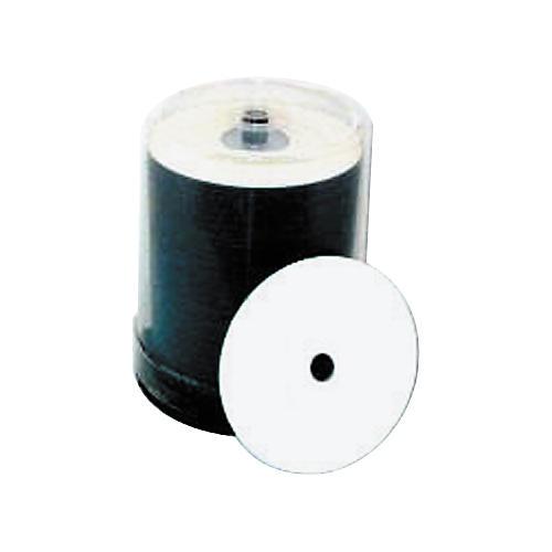 Taiyo Yuden 4.7GB DVD+R, 16X, White Inkjet-Printable and Hub Printable, 100 Disc Spindle-thumbnail