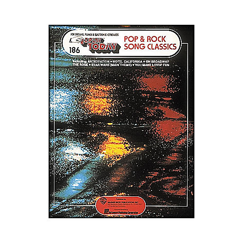 Hal Leonard 40 Pop & Rock Song Classics E-Z Play 186-thumbnail