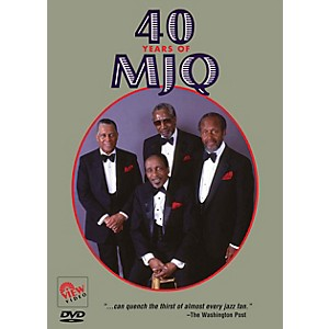 View Video 40 Years of MJQ Live/DVD Series DVD Performed by Modern Jazz Qua...