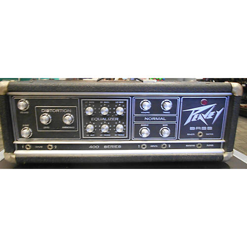 used peavey 400 series 210w bass amp head guitar center. Black Bedroom Furniture Sets. Home Design Ideas