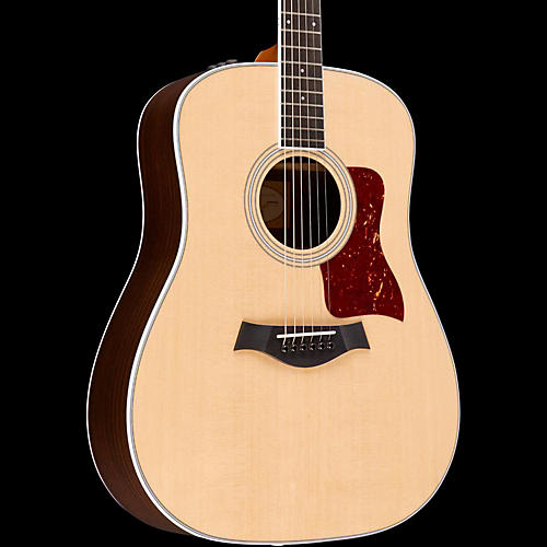 Taylor 400 Series 410e-R Rosewood Dreadnought Acoustic-Electric Guitar Natural-thumbnail