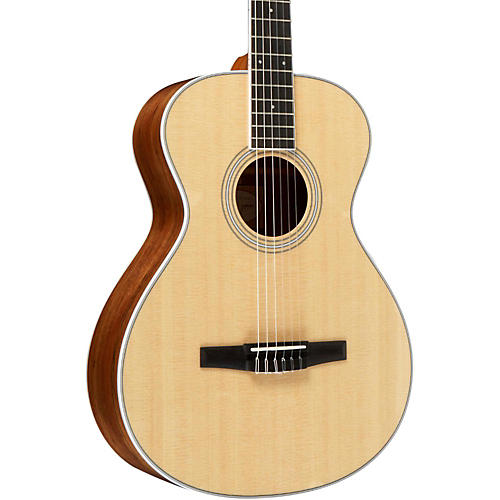 Taylor 400 Series 412e-N Grand Concert Nylon String Acoustic Guitar-thumbnail