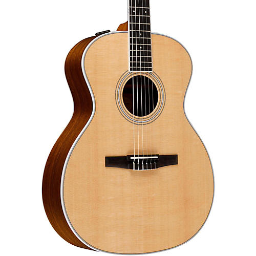 Taylor 400 Series 414e-N Grand Auditorium Nylon String Acoustic-Electric Guitar-thumbnail