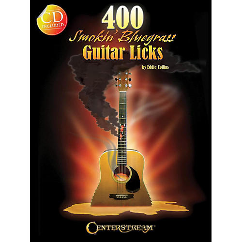 Hal Leonard 400 Smokin' Bluegrass Guitar Licks Book/CD-thumbnail