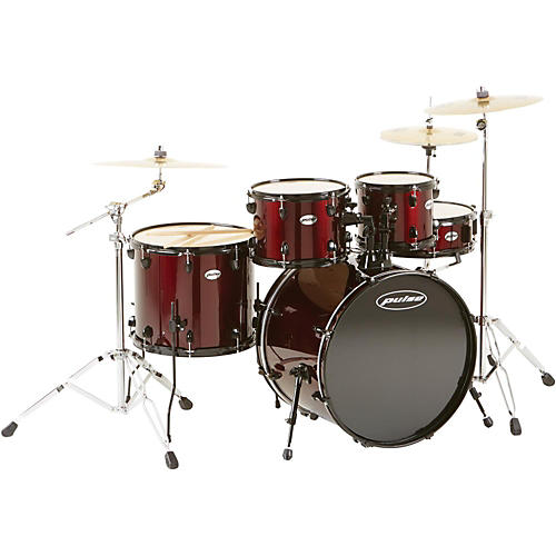Pulse 4000 Series 5-Piece Drumset with PDP Hardware and Meinl Cymbals-thumbnail