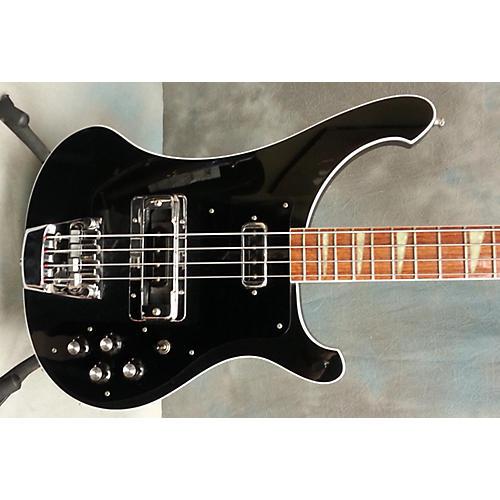 Rickenbacker 4003 Jetglo Electric Bass Guitar-thumbnail