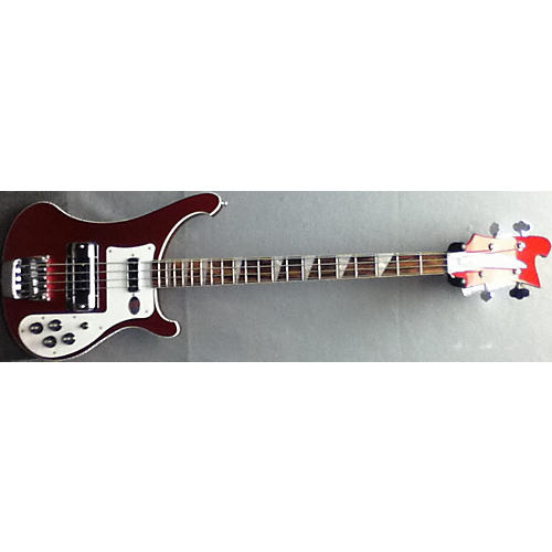 Rickenbacker 4003 Ruby Red Electric Bass Guitar