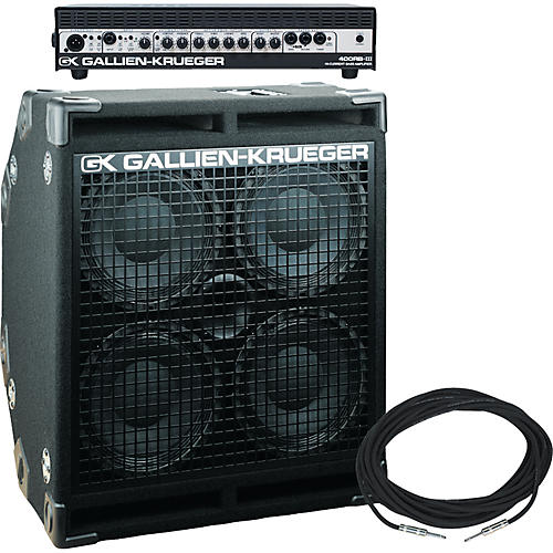 Gallien-Krueger 400RB Half Stack Package