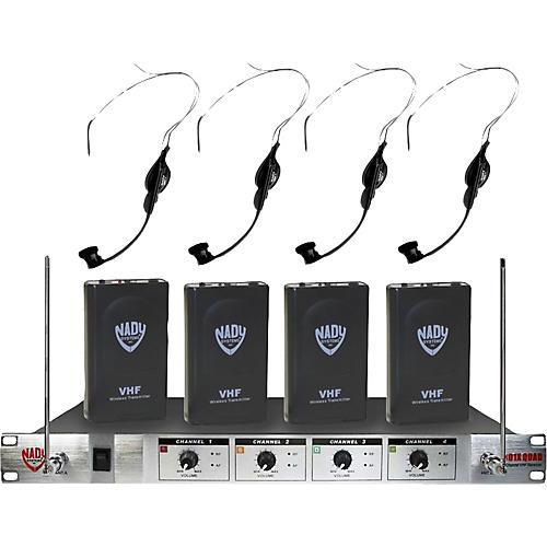 Nady 401X Quad HM-1 Headset Wireless System A/B/D/N