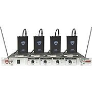 Nady 401X Quad WGT VHF Wireless Guitar System