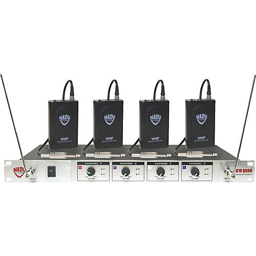 Nady 401X Quad WGT VHF Wireless Guitar System-thumbnail