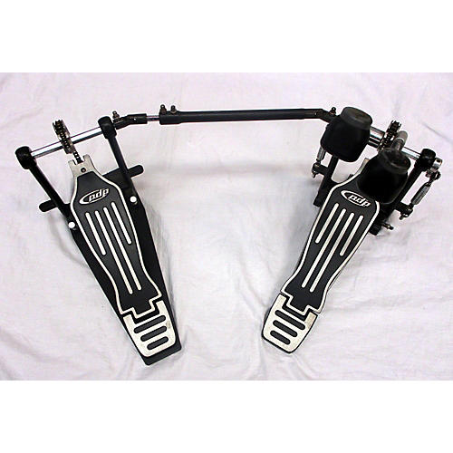 PDP by DW 402 DOUBLE PEDAL Double Bass Drum Pedal-thumbnail
