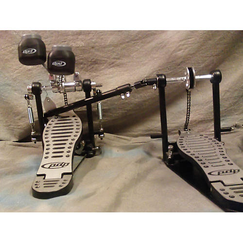 PDP by DW 402 Lefty Double Bass Pedal Double Bass Drum Pedal-thumbnail