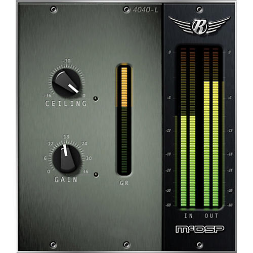 McDSP 4040 Retro Limiter Native v6 Software Download