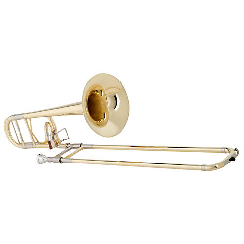 Getzen 4047DS Custom Reserve Series F Attachment Trombone Lacquer Yellow Brass