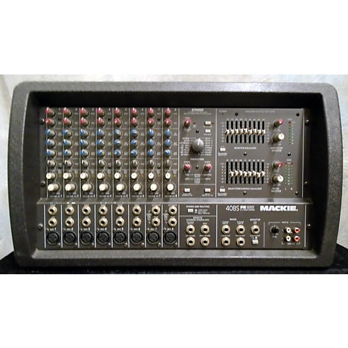 Mackie 408S FR Powered Mixer-thumbnail