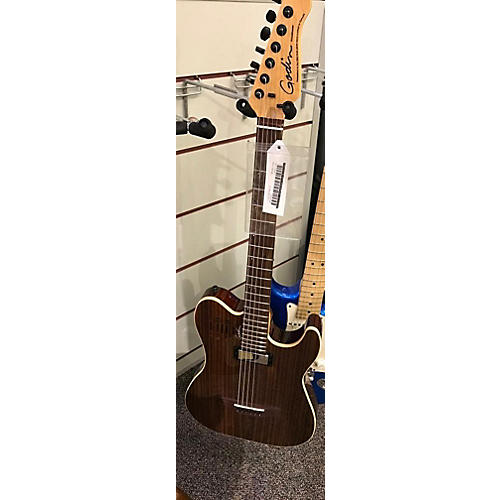 Godin 40th Anniversary Acousticaster Acoustic Electric Guitar-thumbnail