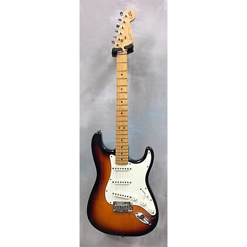 Fender 40th Anniversary American Standard Stratocaster Solid Body Electric Guitar 3 Tone Sunburst