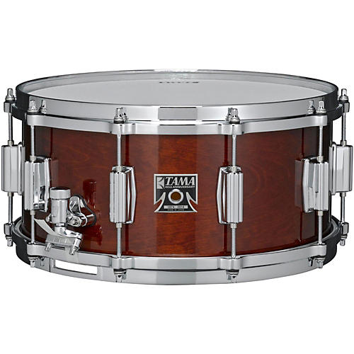 Tama 40th Anniversary Limited Superstar Birch Reissue Snare Super Mahogany 14x6.5 UsedGrade1-thumbnail