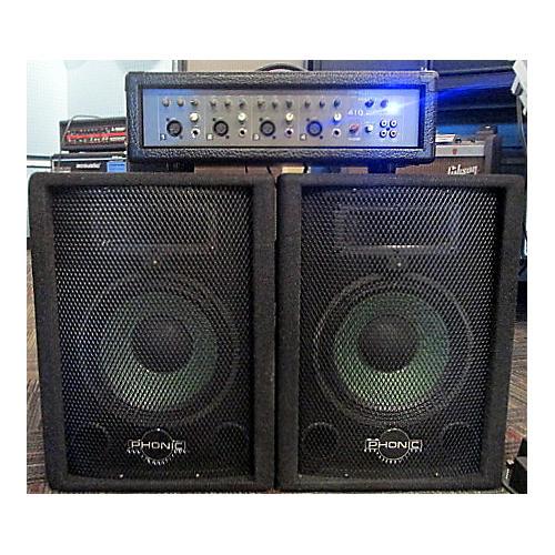 Phonic 410 POWERPOD SERIES 100W PA Powered Mixer
