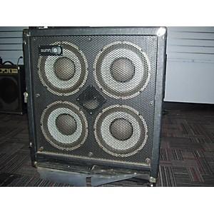 Pre-owned Sunn 410h Bass Cabinet by Sunn