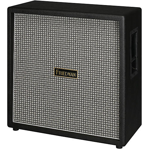 Friedman 412 Checked 170W 4x12 with Celestion Vintage 30 and Greenback Speakers-thumbnail
