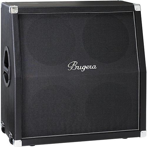 Bugera 412H-BK 200W 4x12 Guitar Speaker Cabinet Black Slant