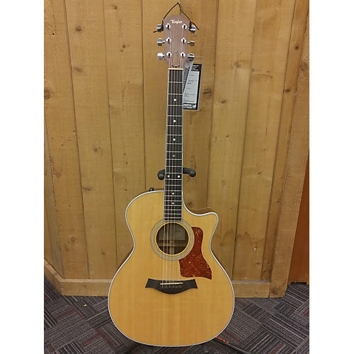 Taylor 414CE Natural Acoustic Electric Guitar