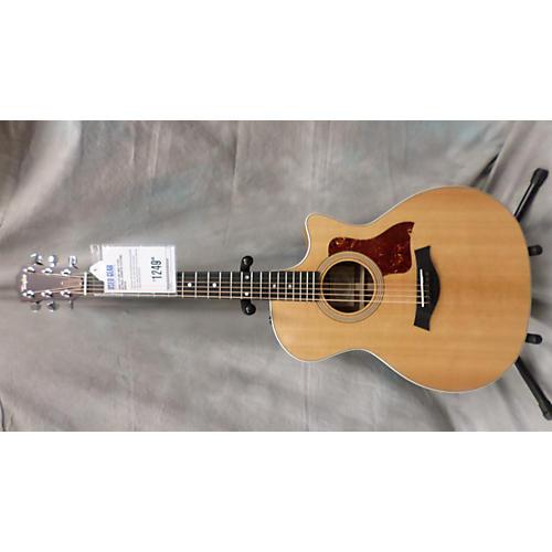 Taylor 414CE Natural Acoustic Electric Guitar