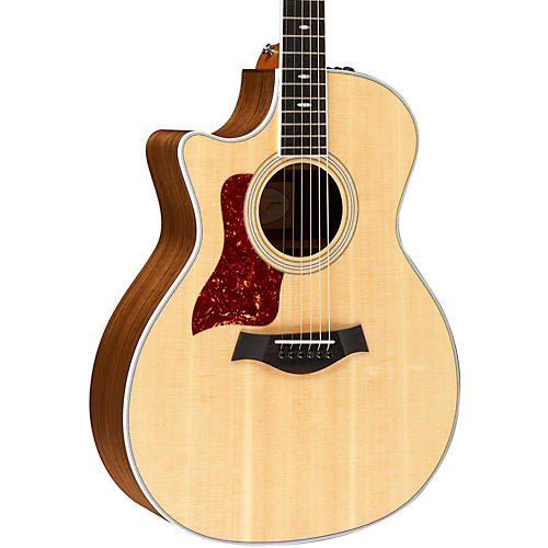 Taylor 414ce-L Ovangkol/Spruce Grand Auditorium Left-Handed Acoustic-Electric Guitar-thumbnail