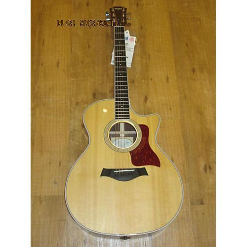 Taylor 416CE Acoustic Electric Guitar Natural