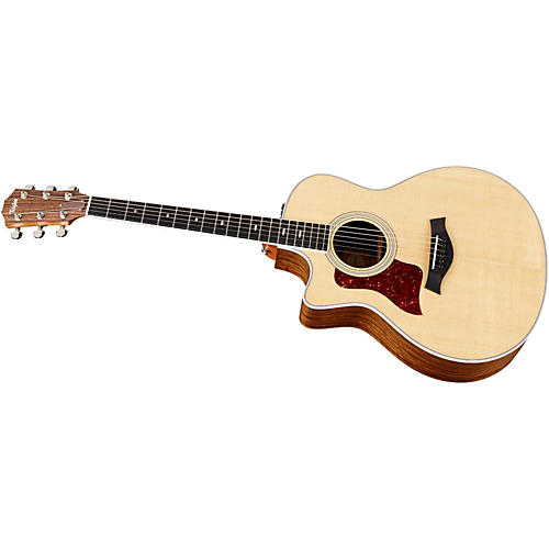 Taylor 416ce-L Ovangkol/Spruce Grand Symphony Left-Handed Acoustic-Electric Guitar Natural