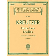 G. Schirmer 42 Studies Transcribed for The Viola By Kreutzer