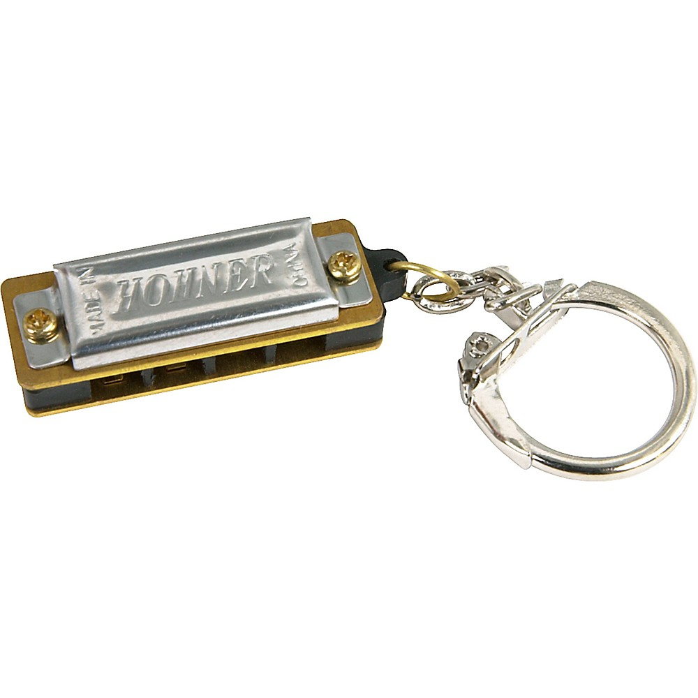 Hohner Mini Harp with Key Ring 1274115056026