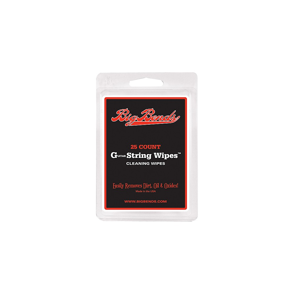 Big Bends Guitar string wipes Small