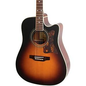 Epiphone Masterbilt DR-500MCE Acoustic-Electric Guitar Vintage Sunburst