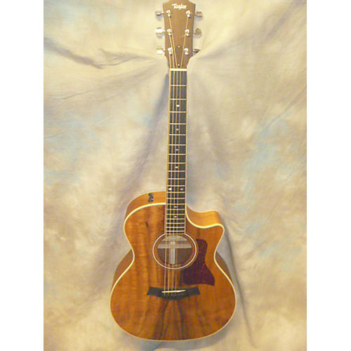 Taylor 424 CE KOA Acoustic Electric Guitar-thumbnail