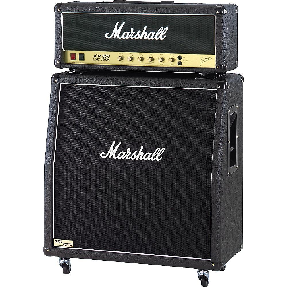 Marshall Jcm800 2203X Vintage And 1960Av Half Stack Angled 1300744183378