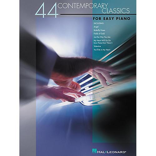 Hal Leonard 44 Contemporary Classics For Easy Piano-thumbnail