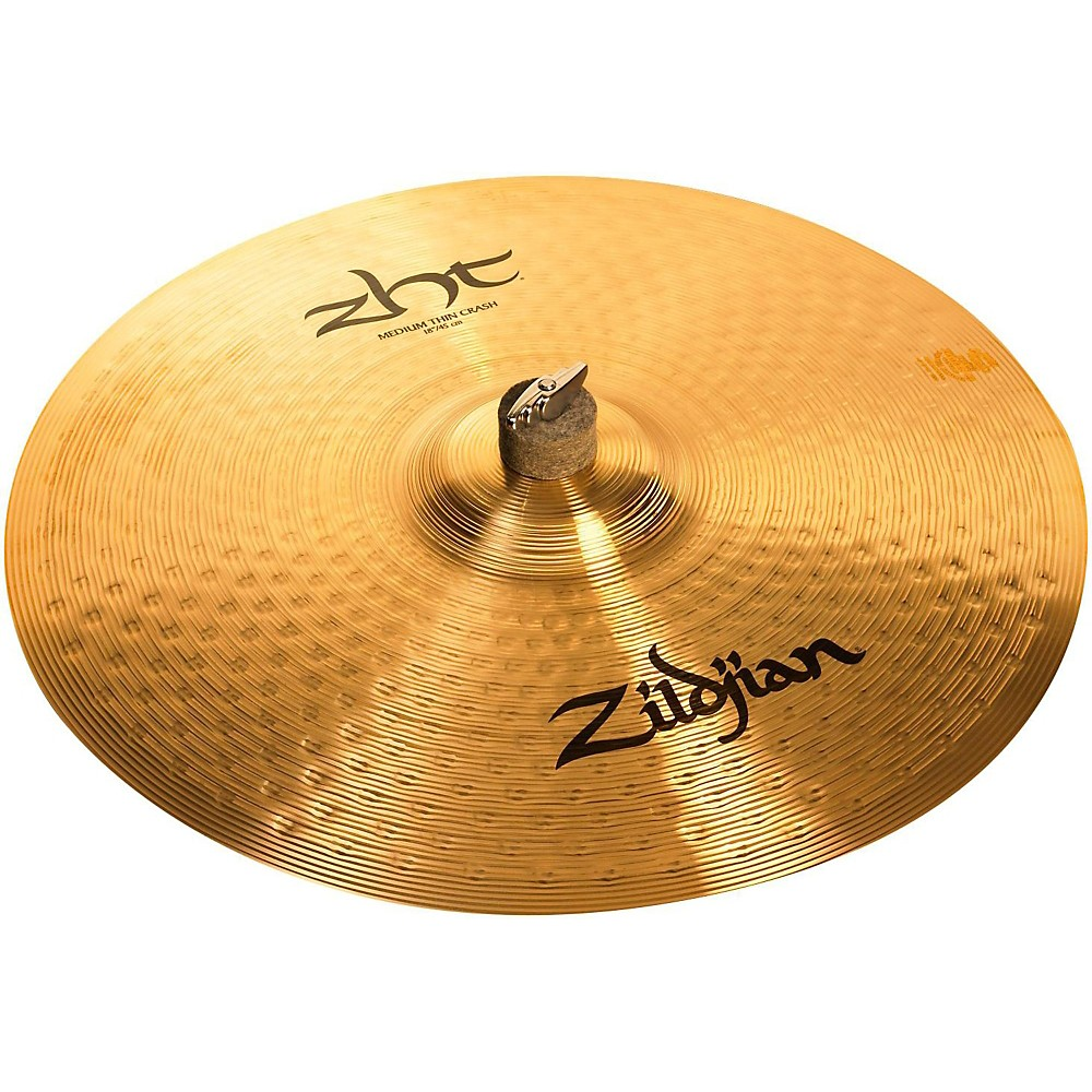 Zildjian Zht Medium Thin Crash Cymbal 18 Inches