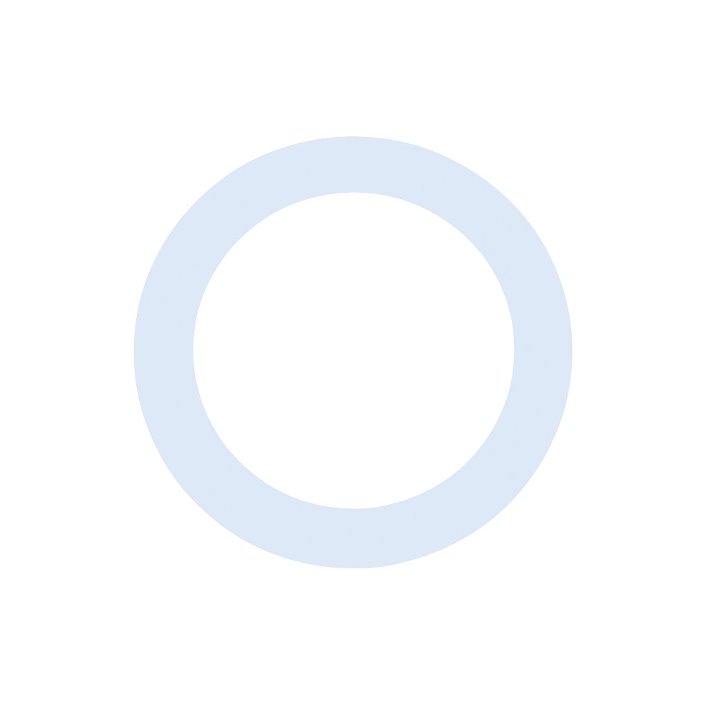 Aquarian Port Hole White 5 in. 1274115040203