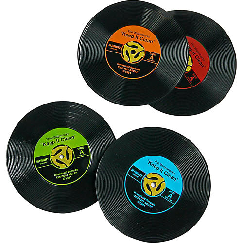 GAMAGO 45 Record Coasters (4-Pack)