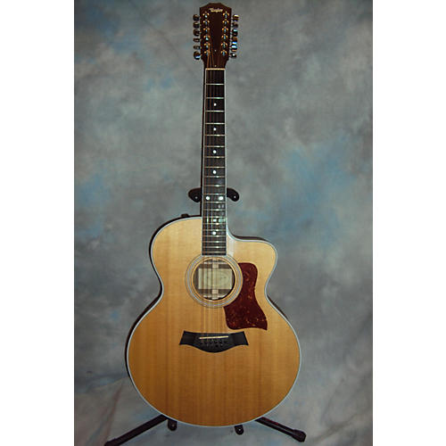 Taylor 455ce 12 String Acoustic Electric Guitar