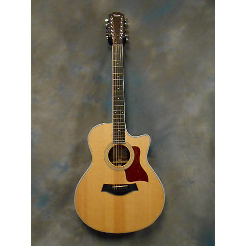 Taylor 456CE 12 String Acoustic Electric Guitar-thumbnail