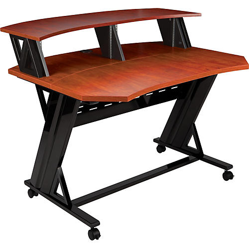 Studio Trends 46 in. Studio Desk with Dual 4U Racks-thumbnail